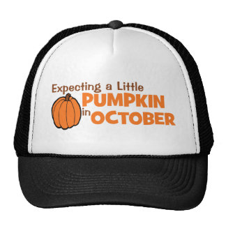 Expecting A Little Pumpkin In October Hat