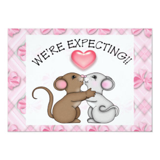 Expecting Announcement Baby Shower Invitation