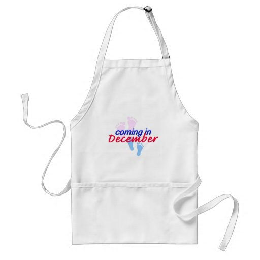 Expecting DECEMBER Apron