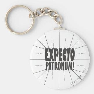 Expecto Patronum! Basic Round Button Key Ring