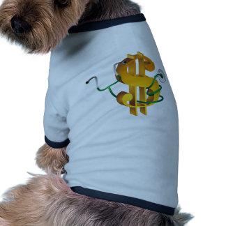 Expensive Healthcare Financials Icon Pet T-shirt