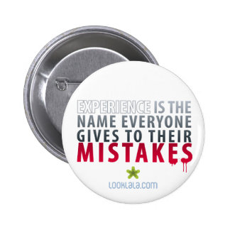 Experience Mistakes Button