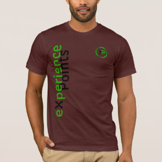 eXperience Points / XP Coin single sided design T-Shirt