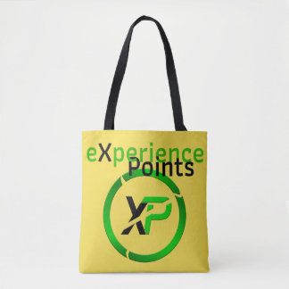 eXperience Points / XP Coin Tote Bag