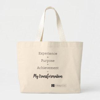 Experience + Purpose + Achievement Tote