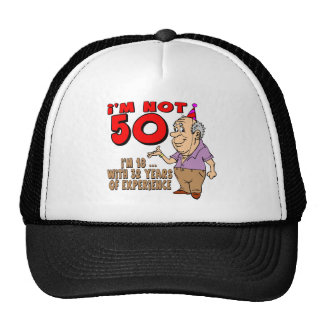 Experienced 18 Year Old 50th Birthday Gifts Cap