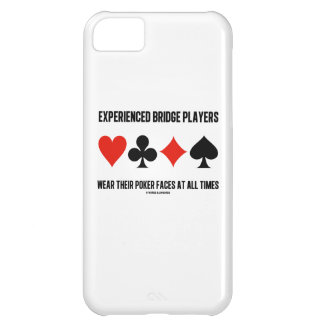 Experienced Bridge Players Wear Their Poker Faces Cover For iPhone 5C