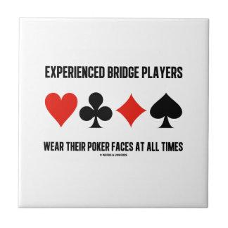 Experienced Bridge Players Wear Their Poker Faces Ceramic Tiles