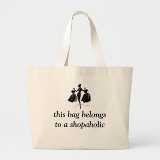 Experienced Shopper Large Tote Bag