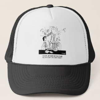 Experiment Cartoon 6904 Trucker Hat