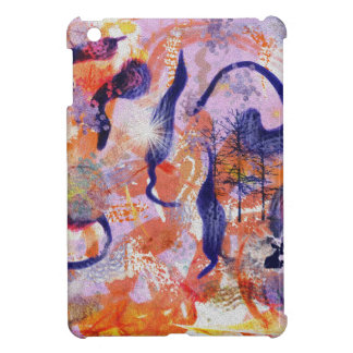 Experimental forest case for the iPad mini