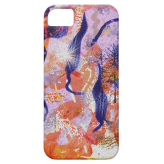 Experimental forest iPhone 5 cases