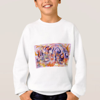 Experimental forest sweatshirt