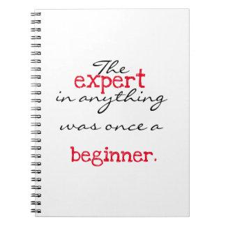 Expert was once a beginner notebooks