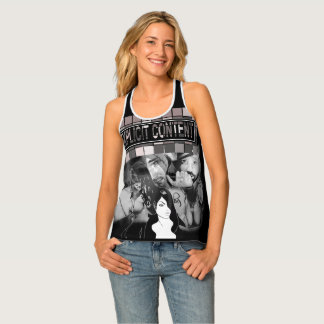 Explicit Content Drawing Collage Abstract Singlet