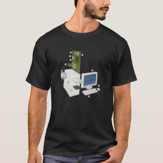 Exploded Computer T-Shirt