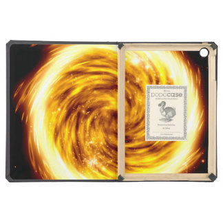 Exploded hot fire orb iPad cases