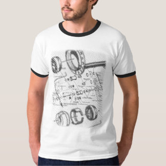 Exploded Hub Diagram (black) T Shirt
