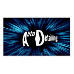 Exploding Auto Detailing Business Card