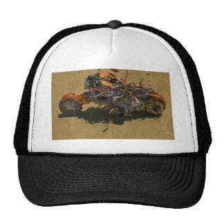 exploding bike cap