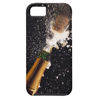 Exploding champagne bottle iPhone 5 cover