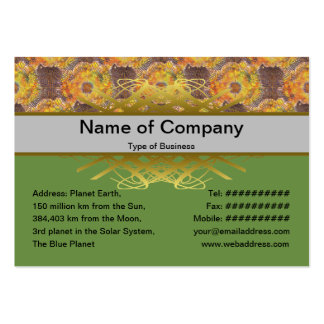 Exploding Clouds Business Card Templates