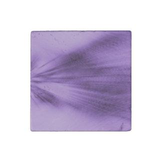 Exploding Lavender Stone Magnet