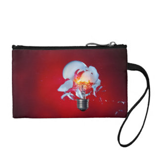 Exploding Light Bulb Coin Wallets