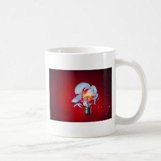 Exploding Lightbulb Basic White Mug