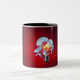 Exploding Lightbulb Coffee Mug