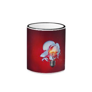 Exploding Lightbulb Mugs