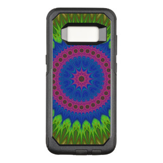 Exploding mandala star OtterBox commuter samsung galaxy s8 case