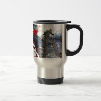 Exploding matchsticks coffee mug