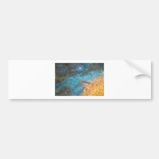 Exploding Planet Bumper Stickers