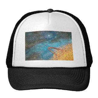 Exploding Planet Trucker Hats