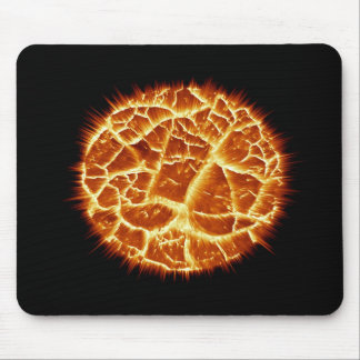 Exploding Planet Mouse Pad