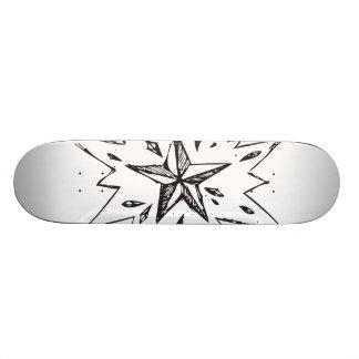 Exploding Star Skateboard