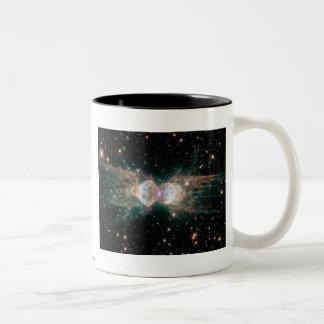 Exploding Star Two-Tone Mug