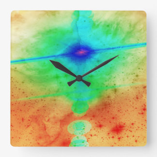 Exploding Star Wall Clock