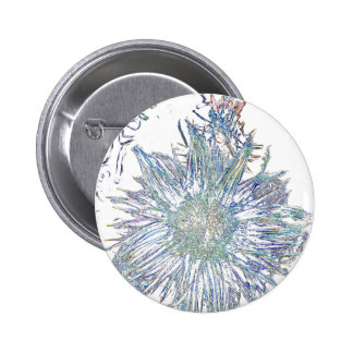 Exploding Thistle Pinback Buttons