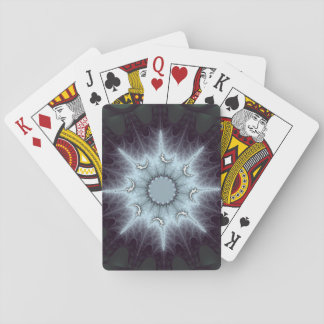 Exploding Web Star Playing Cards