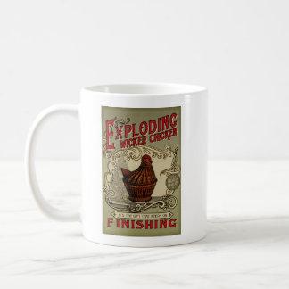 Exploding Witcker Chicken Finishing School Coffee Mug