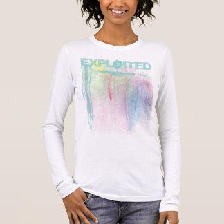 Exploited Paint Splatter Long Sleeve T-Shirt