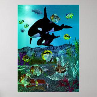 Exploration 3D Aquarium ORCA Print