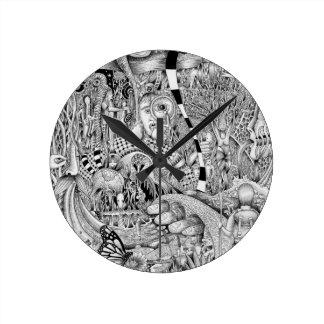 """Exploration"" Wall Clock"