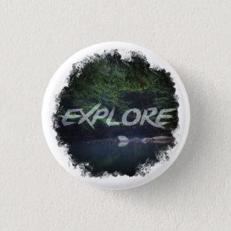 Explore 3 Cm Round Badge