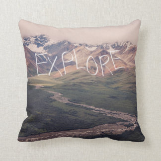 Explore Alaskan Landscape | Pillow