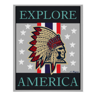Explore America Home/ Office Decor