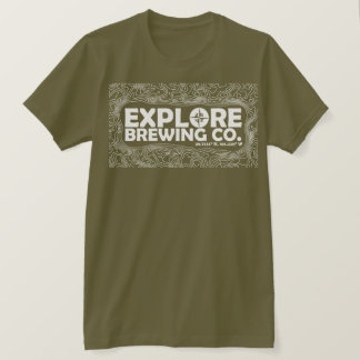 Explore Brewing (white print) T-Shirt