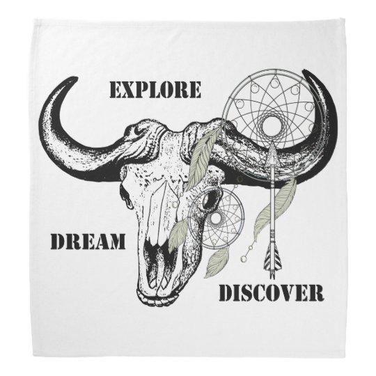 Explore Dream Discover Bandana